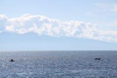 Baikal湖 库存图片