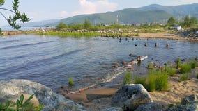 baikal λίμνη Στοκ εικόνα με δικαίωμα ελεύθερης χρήσης