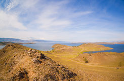 Baikal λιμνών κόλπος στοκ φωτογραφίες με δικαίωμα ελεύθερης χρήσης