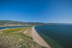 Baikal λιμνών κόλπος Στοκ Εικόνες