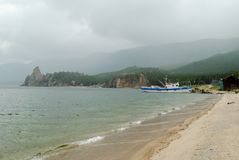 baikal λίμνη κόλπων στοκ εικόνα