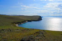 Baikal λίμνη το καλοκαίρι Στοκ Φωτογραφία