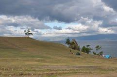 baikal νησί olhon Στοκ φωτογραφία με δικαίωμα ελεύθερης χρήσης