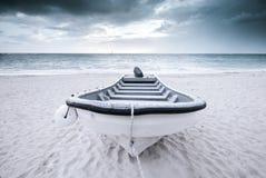 baikal πανοραμική όψη μηχανών λιμνών βαρκών Στοκ Εικόνες