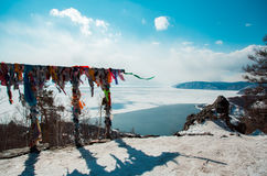 baikal χειμώνας στοκ εικόνα