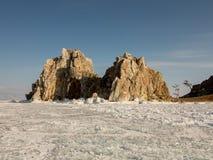 baikal χειμώνας Στοκ εικόνα με δικαίωμα ελεύθερης χρήσης