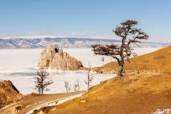 baikal χειμώνας Στοκ φωτογραφία με δικαίωμα ελεύθερης χρήσης