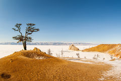 baikal χειμώνας Στοκ εικόνες με δικαίωμα ελεύθερης χρήσης