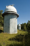 The Baikal astrophysical observatory in Listvyanka Stock Photo