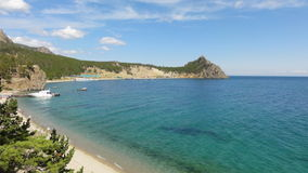 Baikal bay Stock Image