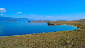 Baikal Brzeg jeziora   Obraz Royalty Free