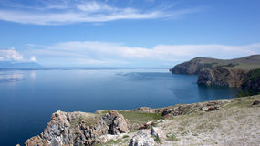 Baikal, cap Bodun Image libre de droits