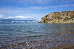 Baikal, cap Budun Image libre de droits