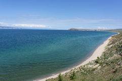 Baikal, cap Budun Photographie stock libre de droits