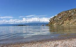 Baikal, cap Budun Photos libres de droits