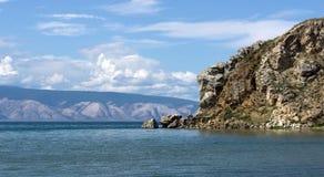 Baikal, cap Budun Photos stock