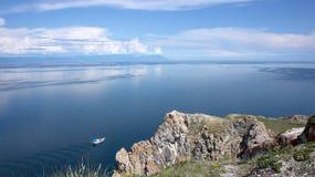 Baikal, cap Khoboy Photos stock