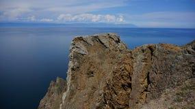 Baikal, cap Khoboy Photo libre de droits