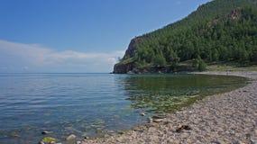 Baikal, cap Uzuny Image stock