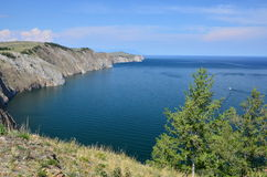 Baikal Cliffs Stock Photo