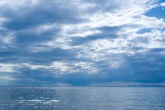 Baikal dopo il temporale Fotografia Stock