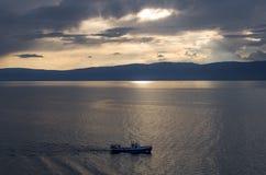 Baikal. Evening sunshine Stock Photography