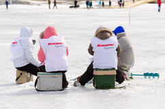 Baikal Fishing 2012 Royalty Free Stock Photography