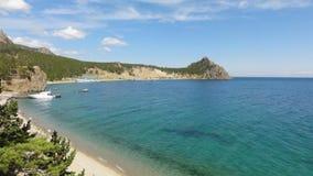 Baikal fjärd Fotografering för Bildbyråer