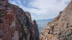 Baikal, frères d'arbre de cap Photo libre de droits