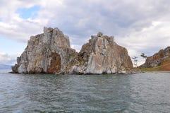 Baikal. Het eiland van Olhon. Royalty-vrije Stock Foto