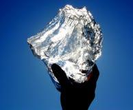 Baikal \ 'hielo de s Imagen de archivo libre de regalías