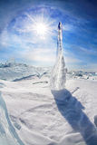 Baikal Ice Stock Images