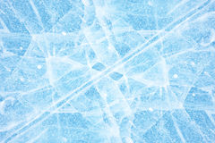 Baikal ice texture Stock Photography