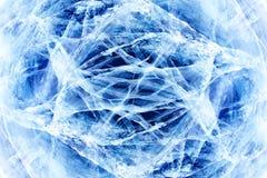 Baikal ice Royalty Free Stock Photo