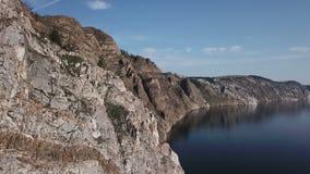 baikal jeziora baikal jezioro olkhon Rosji wyspy Powietrzna ankieta E słoneczny dzień zbiory