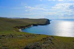 Baikal jezioro w lecie Fotografia Stock