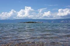 Baikal, Krokodil-Insel Lizenzfreie Stockfotos