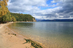 Baikal lake Royalty Free Stock Photo