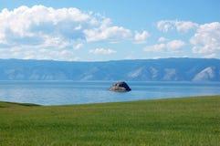 baikal lake Fotografering för Bildbyråer