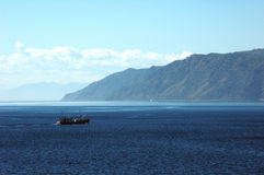 baikal lake Royaltyfria Bilder