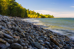 Baikal lake in the autumn Stock Photo