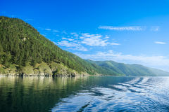 Baikal lake coast Royalty Free Stock Photo