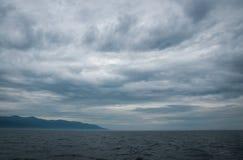 baikal lake russia Arkivfoton