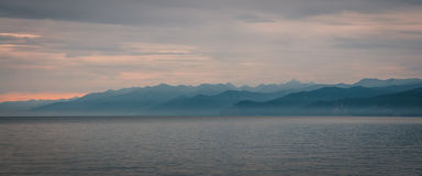 baikal lake russia Royaltyfria Foton