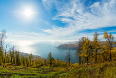 Baikal Listvyanka στοκ φωτογραφίες με δικαίωμα ελεύθερης χρήσης
