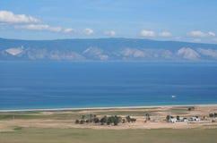 The Baikal nature. The Sarayskiy bay. Stock Image