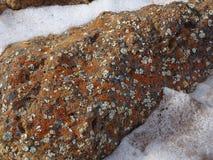 Baikal nell'inverno Posti misteriosi Fotografia Stock Libera da Diritti