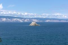Baikal, Noname Insel Lizenzfreies Stockfoto