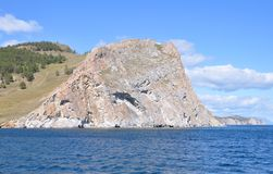 Baikal. Olhon island. Royalty Free Stock Photos