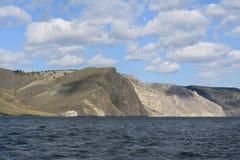 Baikal`s landscape. Siberian landscape of Baikal. Russian nature Royalty Free Stock Images